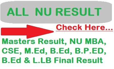 NU Result 2020| www.nu.ac.bd/results/| Check Degree, Honours, Master, LL.B, B.Ed, Ph.d & All Bangladesh National University Result Here