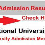 NU Admission Result 2019-2020| bangladeshjobs.guru| Honour merit List, BD NU 1st year admission merit List result 2018-19, National university admission dates