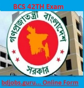 42th BCS Exam 2020 circular notice